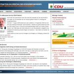 Neugestalteter Internetauftritt – CDU-Fraktion Erzgebirgskreis